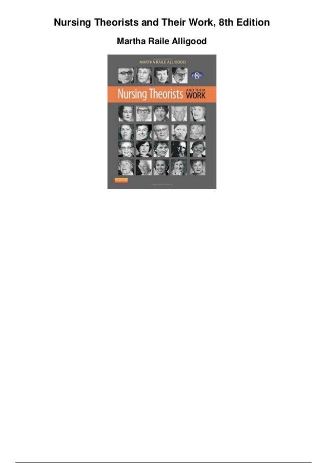 nursing theorists and their work pdf free