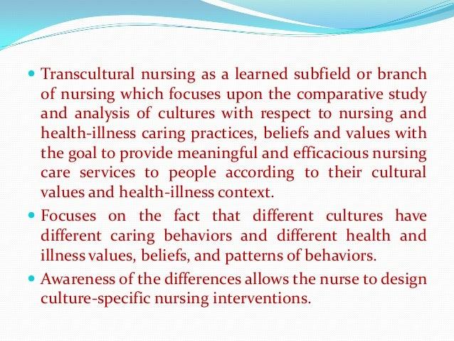 Leininger Transcultural Nursing Theory&nbspEssay