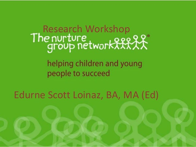 Research Workshop Edurne Scott Loinaz, BA, MA (Ed)