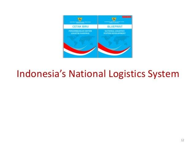 Indonesia's National Logistics System                                        12