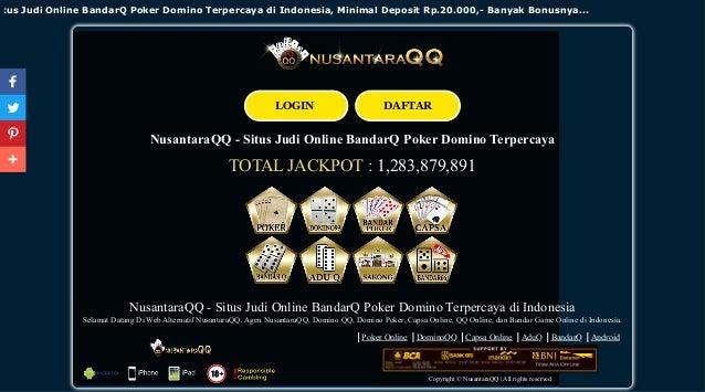 Nusantara Qq Situs Judi Online Bandarq Poker Domino Terpercaya Di I