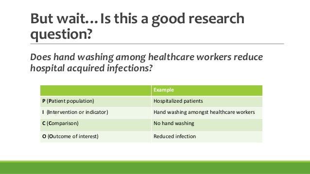 good nursing research questions