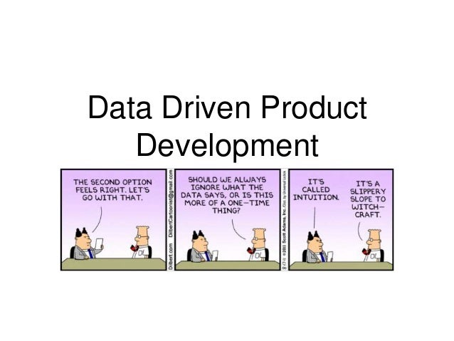 Data driven product development for Product design and development