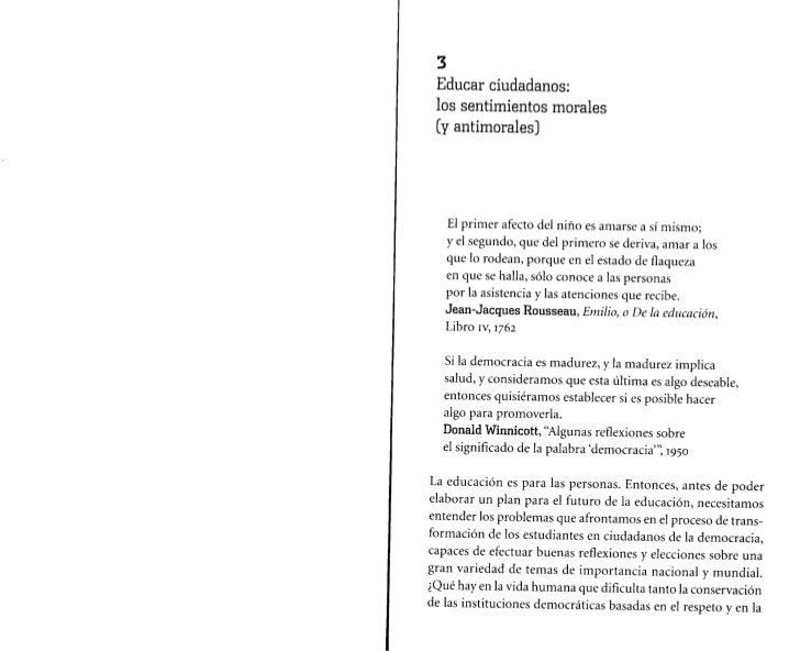 Nussbaum cap 3 4 pedagogia socratica