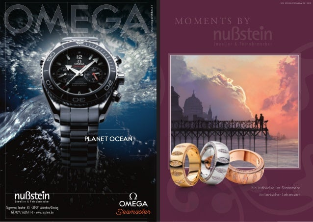 DAS SCHMUCKMAGAZIN I 2012               www.omegawatches.de                                     MOMENTS BYPLANET OCEAN    ...