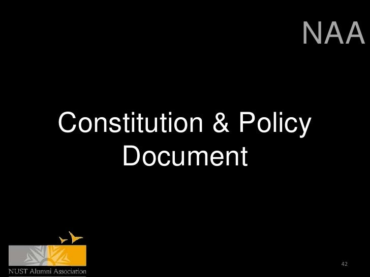 NAAConstitution & Policy    Document                        42