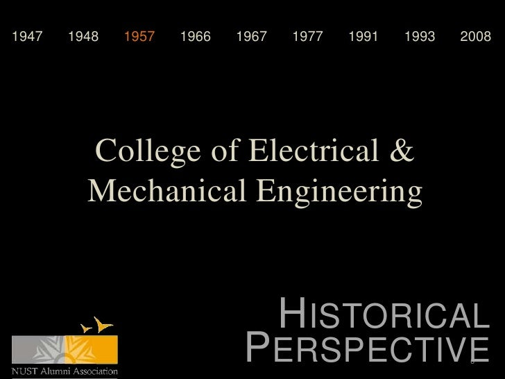 1947   1948   1957   1966   1967   1977   1991   1993   2008         College of Electrical &         Mechanical Engineerin...