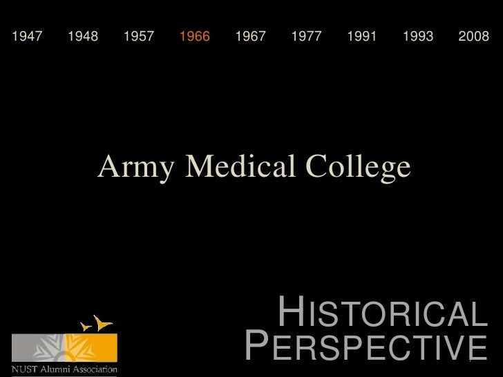 1947   1948   1957   1966   1967   1977   1991   1993   2008          Army Medical College                                ...