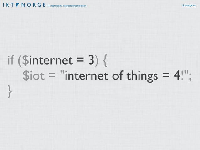 IT-næringens interesseorganisasjon ikt-norge.no 1 sense