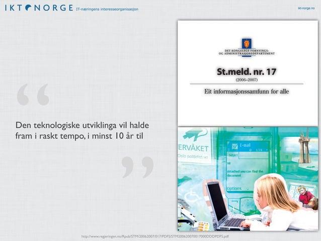 IT-næringens interesseorganisasjon ikt-norge.no
