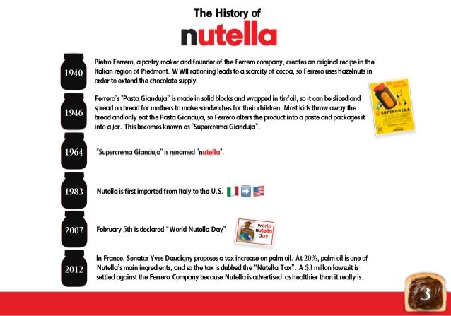 nutella advertising campaign