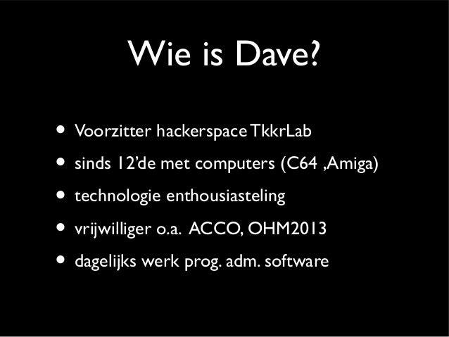 Nut en noodzaak hacken Slide 2