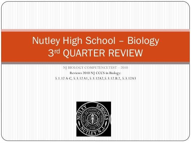 Nutley HS Bio EOC Review