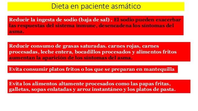 Nutrición en asma