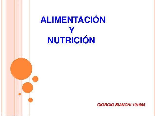 ALIMENTACIÓNYNUTRICIÓNGIORGIO BIANCHI 101665