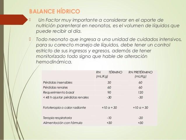 Nutrición parenteral neonatal Slide 2