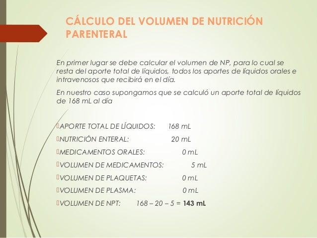 Nutrición parenteral neonatal Slide 3