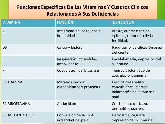 Nutrición Animal (vitaminas)