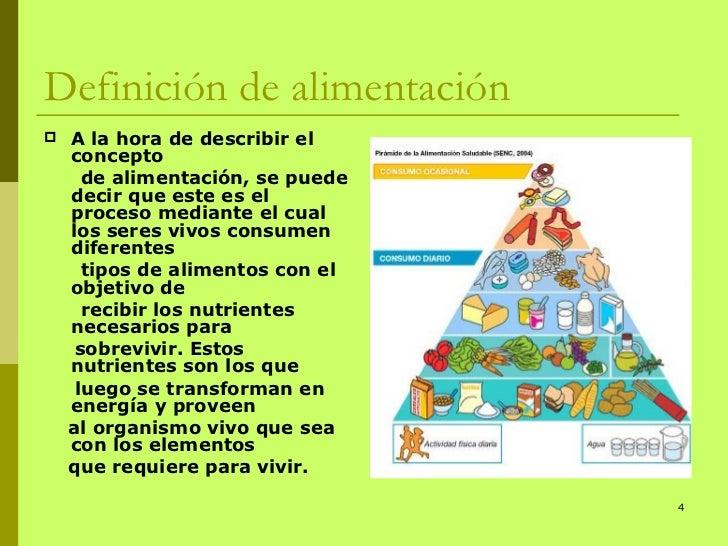 Nutrici n y alimentaci n for Dieta definicion