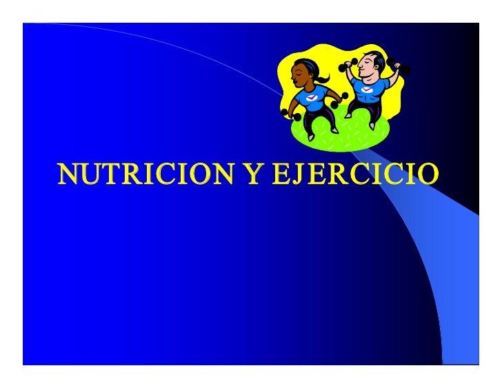 NUTRICIONYEJ ERCICIO