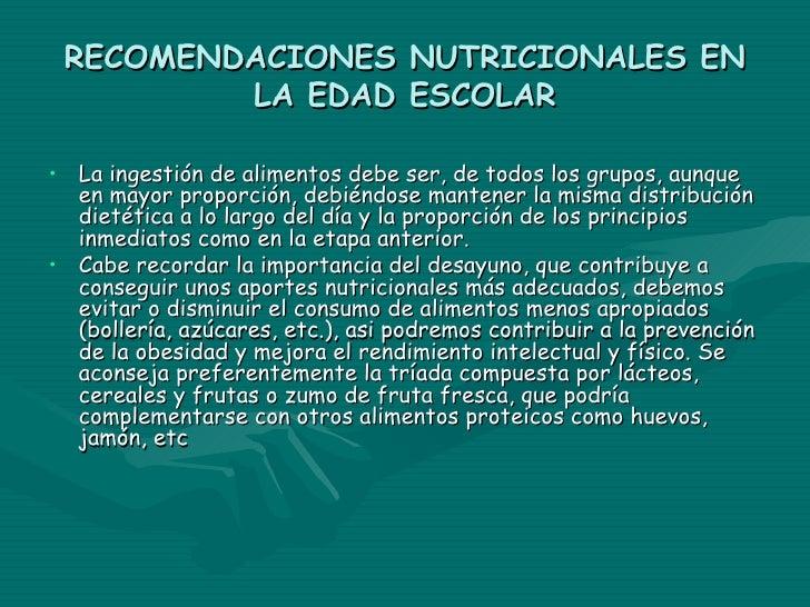 CARACTERÍSTICAS DURANTE               LA ADOLESCENCIA• Durante la adolescencia aumentan mucho las necesidades  nutricional...