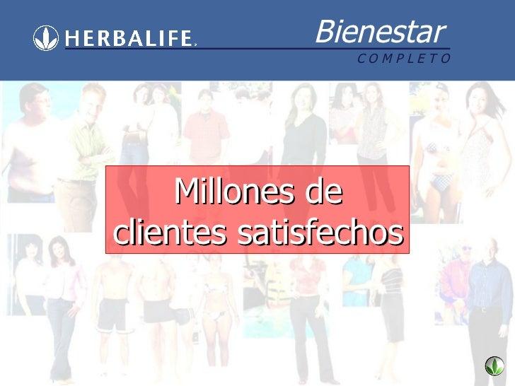 Millones de clientes satisfechos