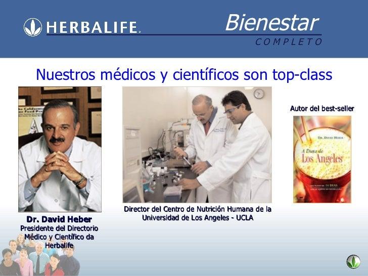 Nuestros médicos y científicos son top-class Director del Centro de Nutrición Humana de la Universidad de Los Angeles - UC...