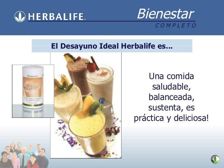 Una comida saludable, balanceada, sustenta, es práctica y deliciosa! El Desayuno Ideal Herbalife es...