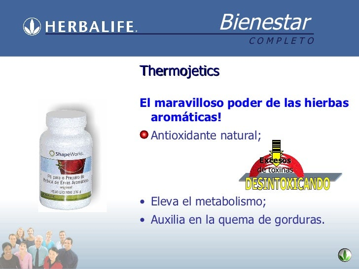 Thermojetics <ul><li>El maravilloso poder de las hierbas aromáticas! </li></ul><ul><li>Antioxidante natural; </li></ul><ul...