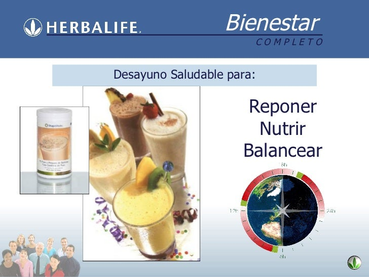 Desayuno Saludable para: Reponer Nutrir Balancear