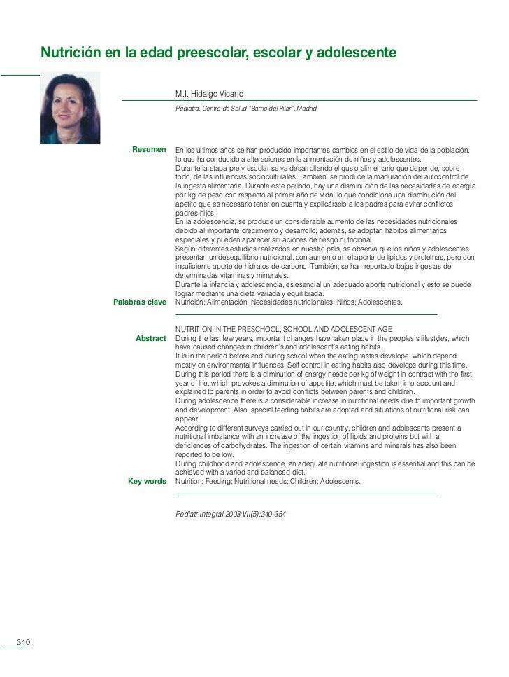 PI Rev 64p copia   24/7/03    12:42   Página 340        Nutrición en la edad preescolar, escolar y adolescente            ...