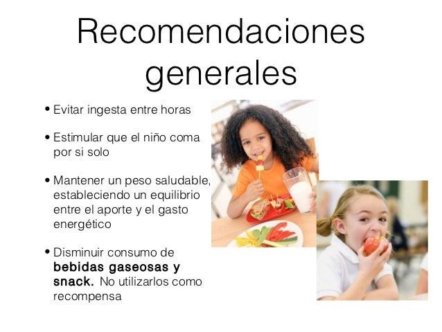 Nutricion en la edad preescolar