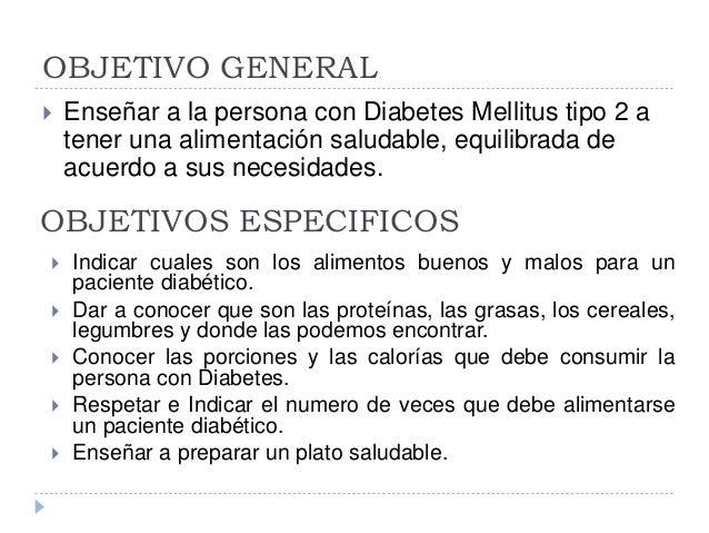 Plan educativo nutricion - Alimentos que no debe comer un diabetico ...
