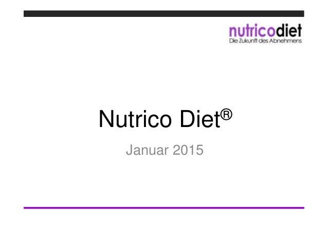 Nutrico Diet® Januar 2015