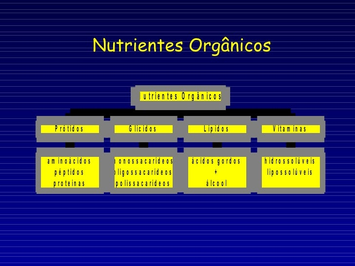 Nutrientes Orgânicos