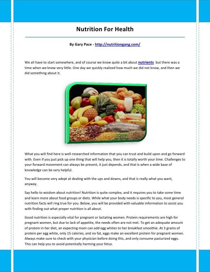 Nutrition For Health_____________________________________________________________________________________                 ...