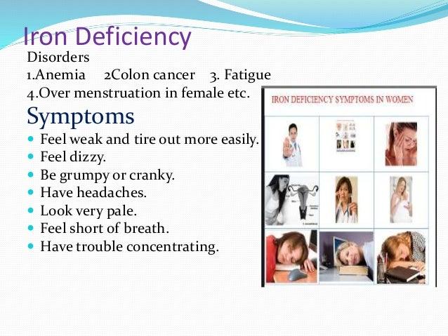 nutritional deficiency disorders in human