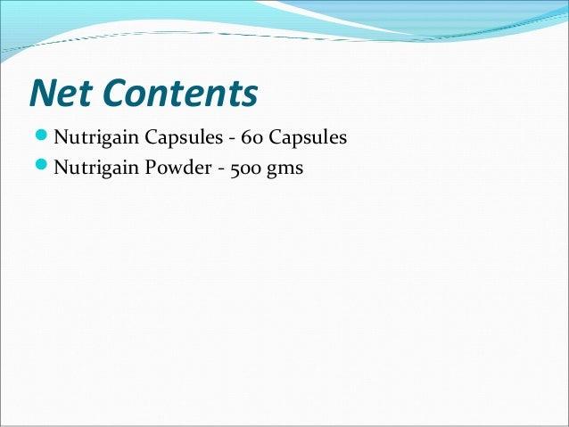 Buy Nutrigain capsules & Nutrigain powder Combo online in India
