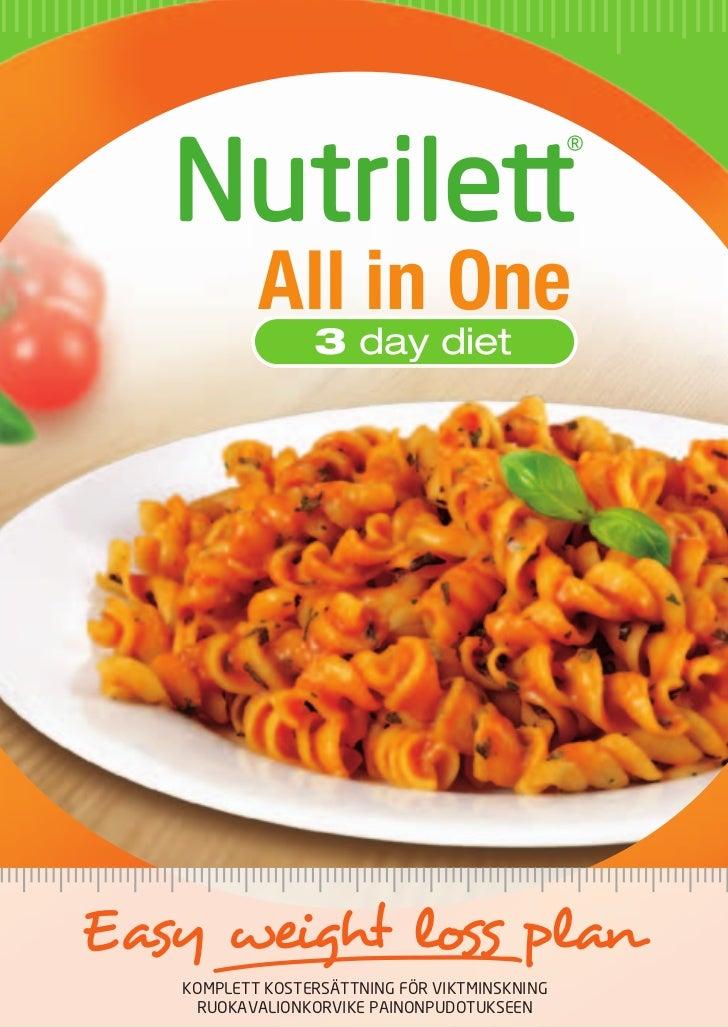 nutrilett quick weight loss resultat