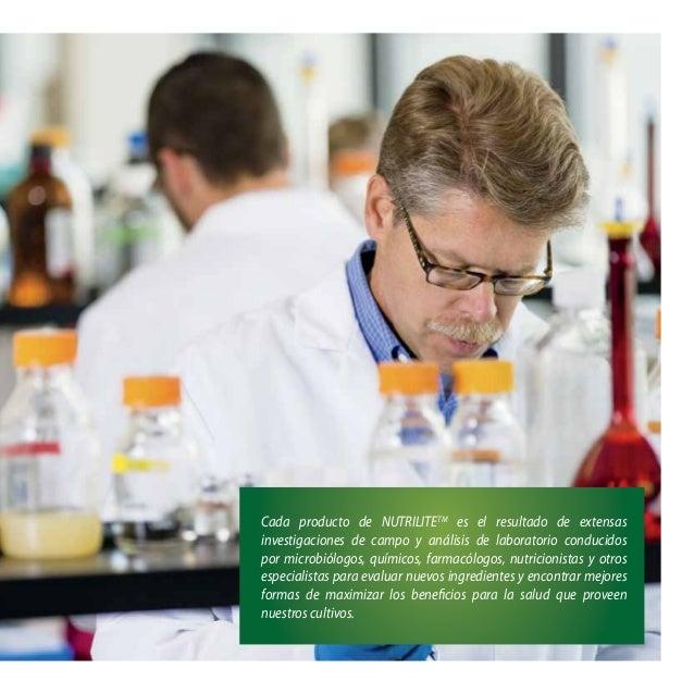 Cada producto de NUTRILITETM es el resultado de extensas investigaciones de campo y análisis de laboratorio conducidos por...