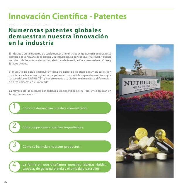 20 Numerosas patentes globales demuestran nuestra innovación en la industria Innovación Científica - Patentes El liderazgo...