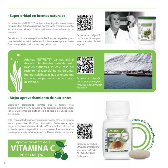 FPO Escanea este código QR con tu smartphone para ver el video de la Proteína Vegetal. 22 • Superioridad en fuentes natura...