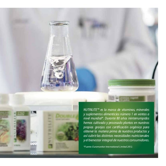 NUTRILITE™ es la marca de vitaminas, minerales y suplementos alimenticios número 1 en ventas a nivel mundial*. Durante 80 ...