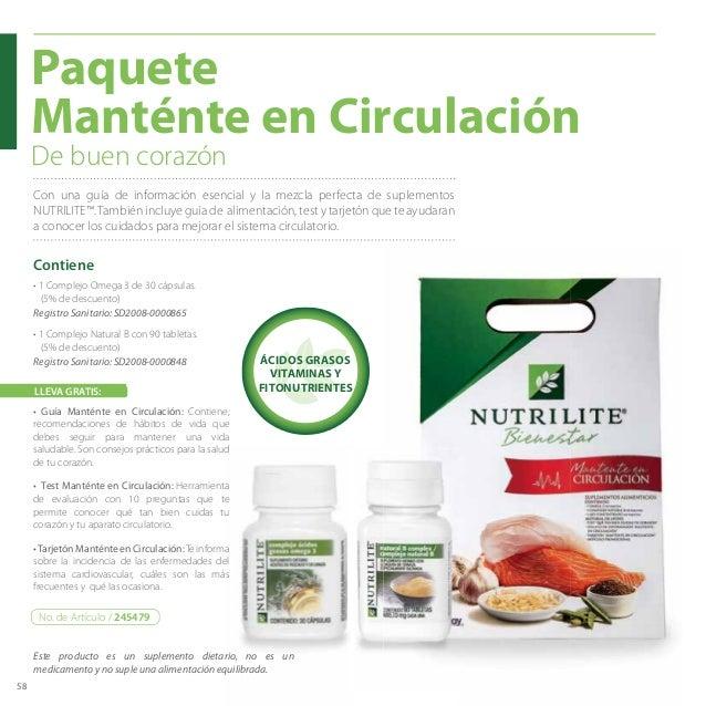 58 Paquete Manténte en Circulación De buen corazón Con una guía de información esencial y la mezcla perfecta de suplemento...