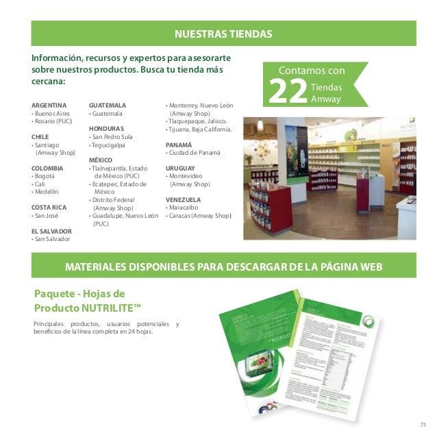 71 Información, recursos y expertos para asesorarte sobre nuestros productos. Busca tu tienda más cercana: NUESTRAS TIENDA...