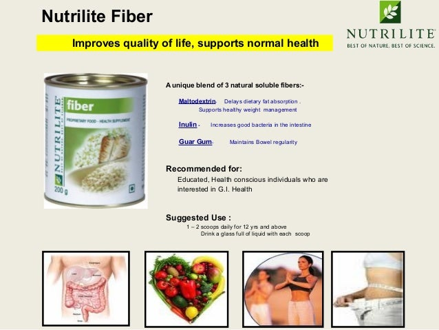 nutrilite fiber