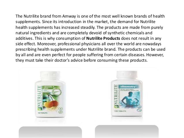 nutrilite products online