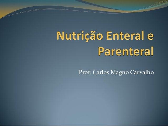 Prof. Carlos Magno Carvalho