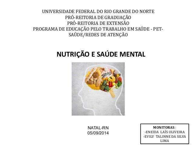 UNIVERSIDADE FEDERAL DO RIO GRANDE DO NORTE  PRÓ-REITORIA DE GRADUAÇÃO  PRÓ-REITORIA DE EXTENSÃO  PROGRAMA DE EDUCAÇÃO PEL...