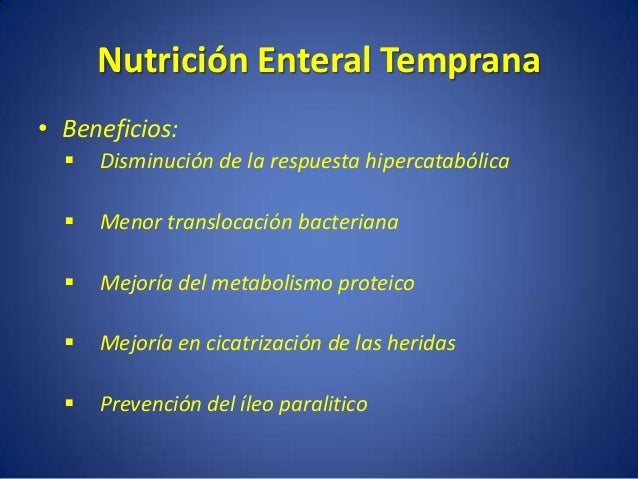 Nutrion enteral residentes